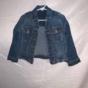 Toddler Gap jean jacket size 4